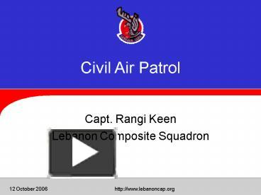 ppt civil air patrol powerpoint presentation free to. Black Bedroom Furniture Sets. Home Design Ideas