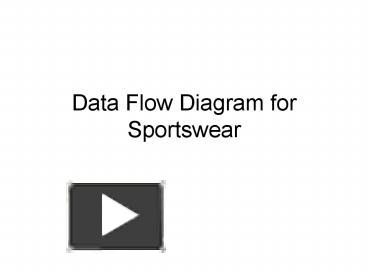 Ppt data flow diagram for sportswear powerpoint presentation ppt data flow diagram for sportswear powerpoint presentation free to view id 9bc4d mjcwy ccuart Gallery