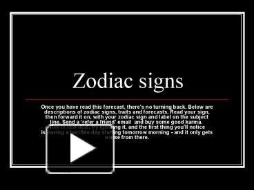 Ppt zodiac signs powerpoint presentation free to download id ppt zodiac signs powerpoint presentation free to download id 9c18 mddhz toneelgroepblik Choice Image