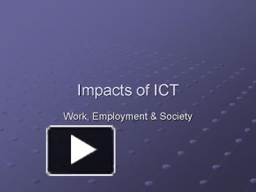 implication of ict in education
