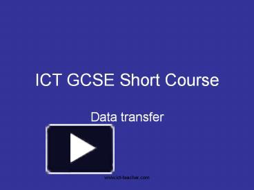 Gcse coursework help ict hickley