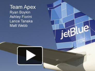 porters 5 forces model for jetblue airways