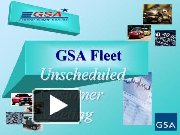 PPT – GSA Fleet PowerPoint presentation | free to view - id