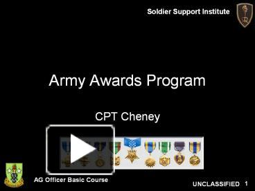 Ppt army awards program powerpoint presentation free to ppt army awards program powerpoint presentation free to download id af9d0 mjkyn toneelgroepblik Images