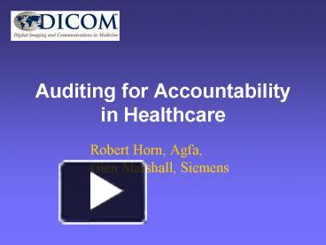 accountability in health care