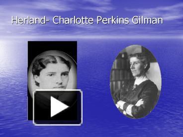 female subordination in charlotte perkins gilman