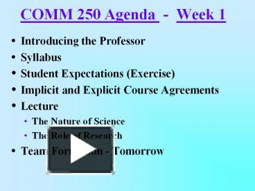 comm250 midterm review