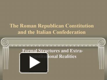 contributions of the greeks and romans Ancient greece contributions: greeks have made some of the crucial contributions in diverse walks of life like philosophy, art, and architecture, math.