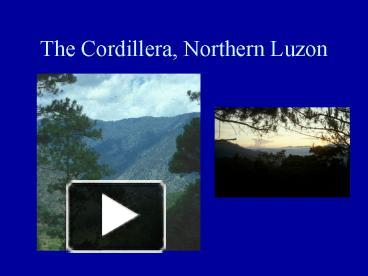 information about cordillera music