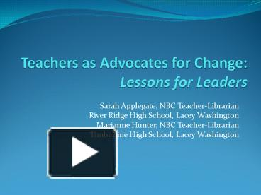"""advocating for change Advocacy is an activity by an individual or group which advocacy represents the series of actions taken and issues highlighted to change the """"what is"""" into."""
