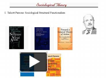parsons 1951 the social system