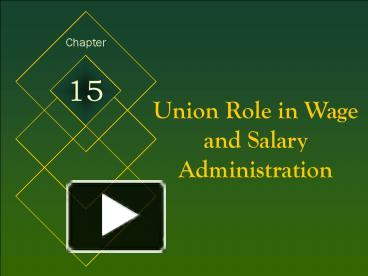 union role in wages and salary adminitration Brief explanation about union impact in wage system sign in register hide union role in wage administration category: wage and salary administration wage.