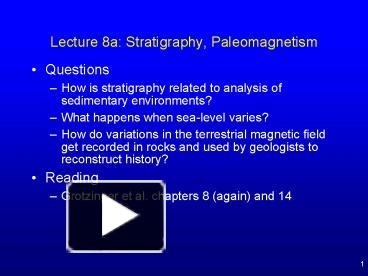 what is stratigraphy used for