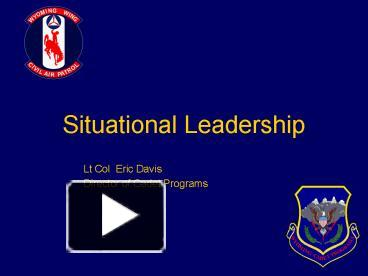 situational leadership and power bases Situational leadership a contingency theory situational leadership  leadership mastering relational dynamics influence communicate motivate exercise power.