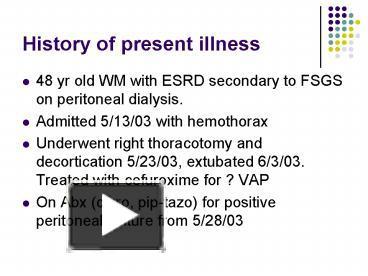 PPT – History of present illness PowerPoint presentation